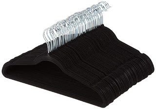 100-Pack AmazonBasics Velvet Suit Clothes Hangers $20.71 + Free Shipping
