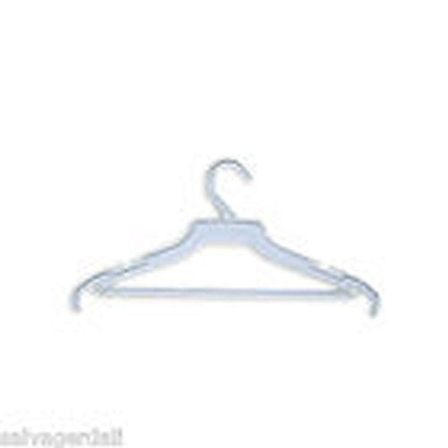 "500 16"" White Ladies Suit Shipping Hanger NEW"