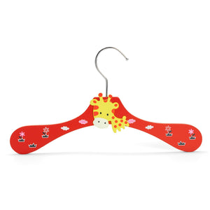 Harbour Housewares Children's Clothes Hanger - Giraffe