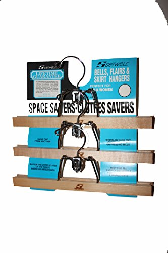 American Made Skirt Hangers 2 Sets of 3