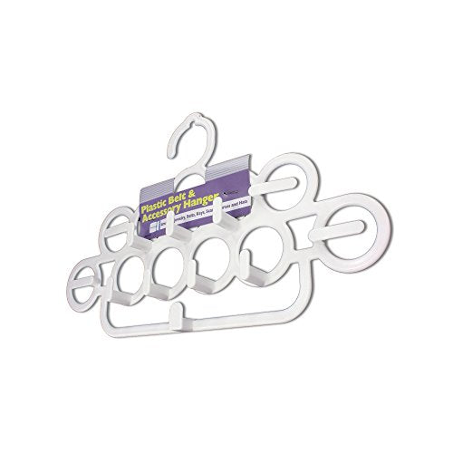 123-Wholesale - Set of 36 Belt & Accessory Hanger - Household Supplies Hangers
