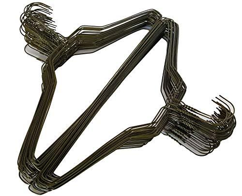 100 Gold Wire Hangers 18  Standard Clothes Hangers (100, Gold)