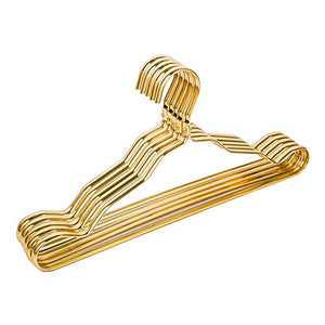 BestBang 20 Pcs Aluminum Alloy Clothes Hanger,Suit Hangers,Anti-slip Skirt Hangers (Golden)