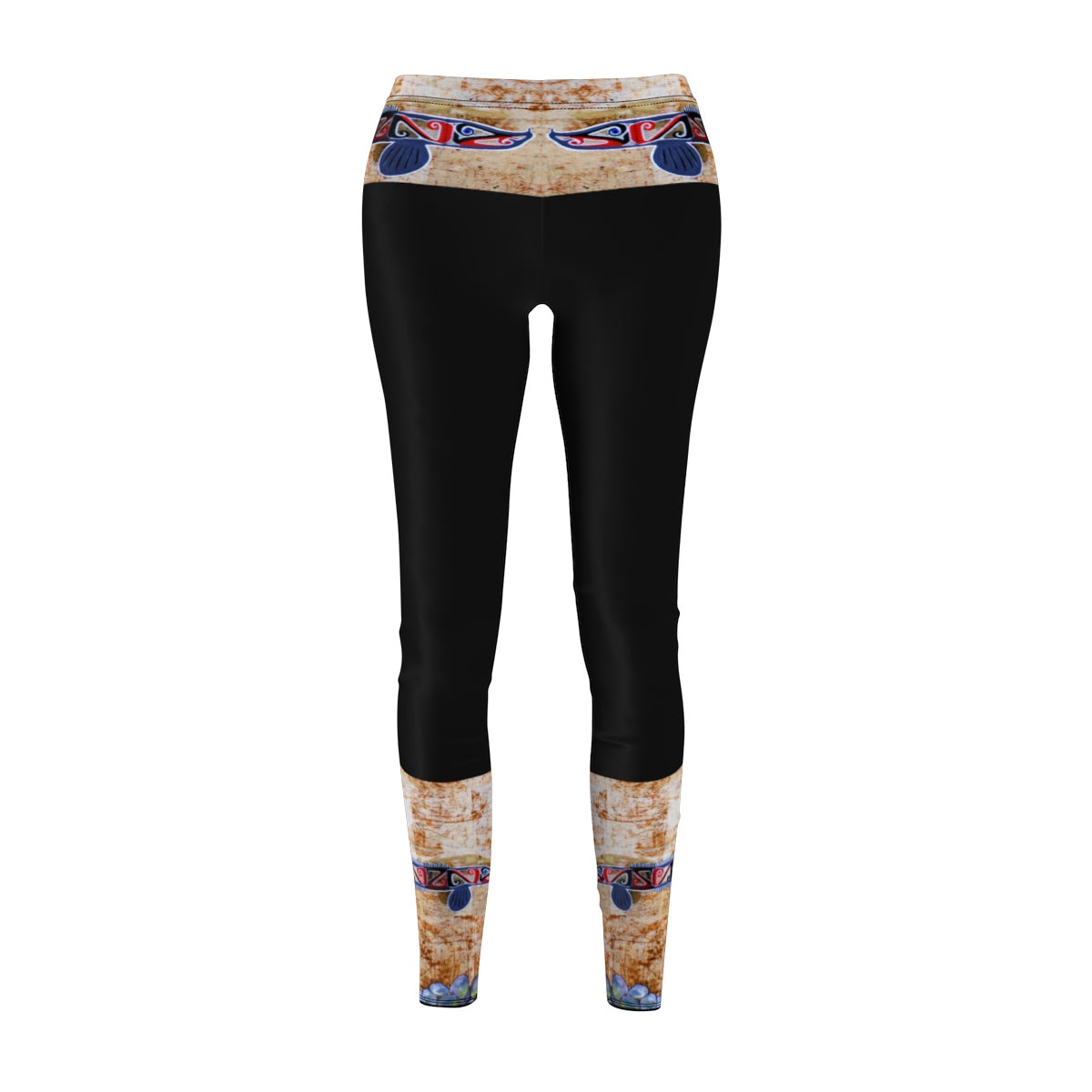 Womens Cut & Sew Leggings Leggs MMLF bands