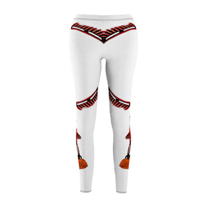 Womens Cut & Sew Leggs Pou on white