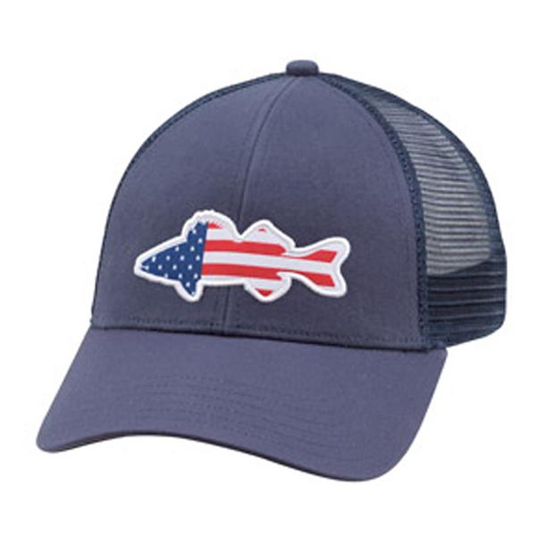 USA Walleye Trucker Hat