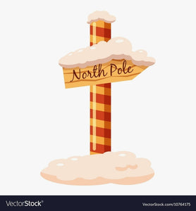 Divine North Pole Sign