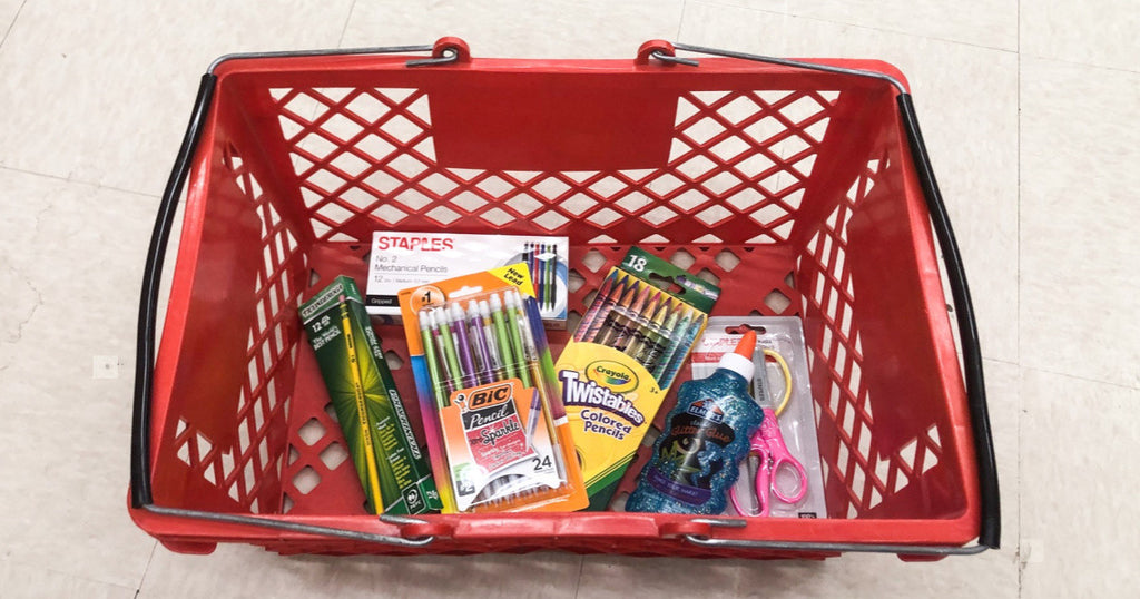 Staples School Supply Deals 8/25-8/31 | 50¢ Crayons, 97¢ Crayola Markers & More