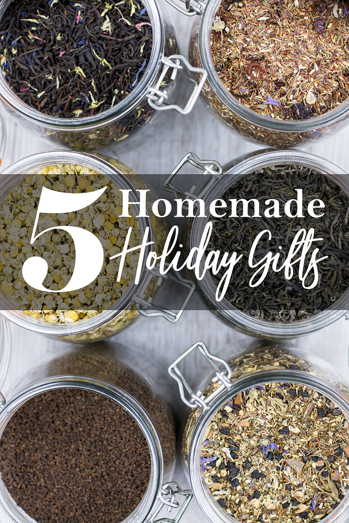 5 Homemade Holiday Gift Ideas