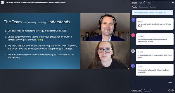 What a best-in-class virtual events team looks like (recommended roles + examples)