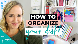 Ready, set, organize! I'm kicking off the new year by organizing one room at a time