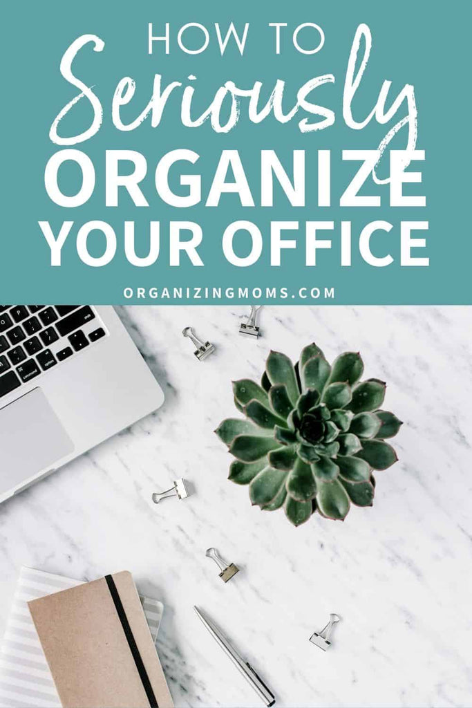 Home office organization ideas you won't want to miss! Use these paper organization systems and office organizing ideas to make your home office the most organized it's ever been.