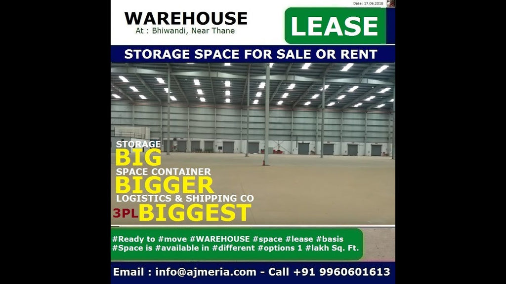 Ready Warehouse Space Available for Industrial Transportation, custom bonded, document storage #Ready #Warehouse #Space #Available for #Industrial ...
