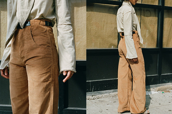 6 POCKET PANT, BEIGE BROWN