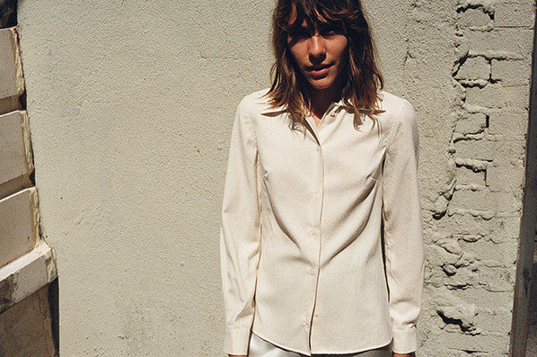 NADOR SHIRT, OFF WHITE