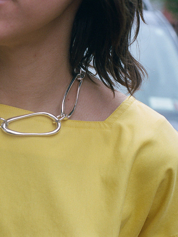 ARP COLLAR, STERLING SILVER