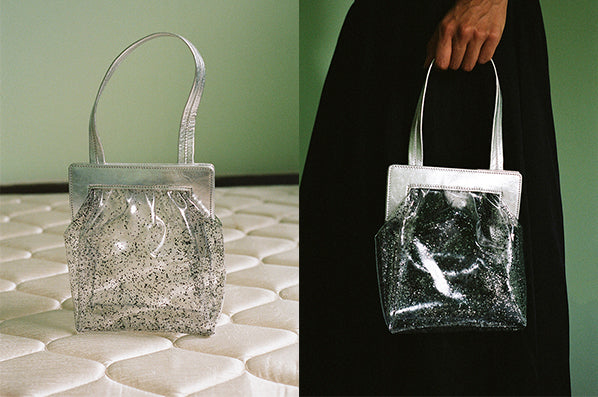 GLOW PURSE, SPARKLE CLEAR