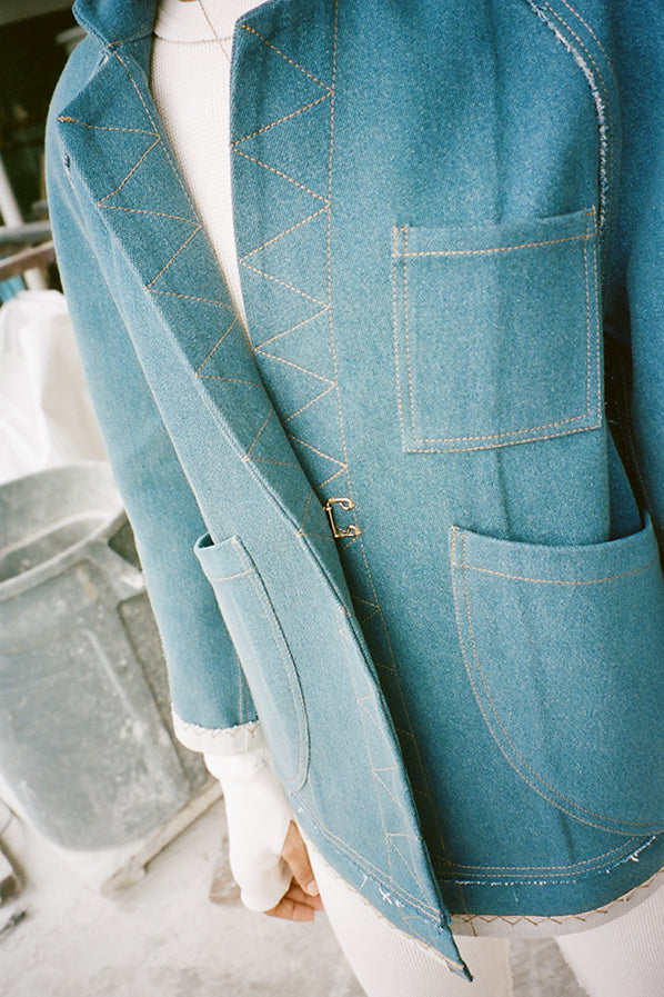 JAN SHELL JACKET, EDITION 1 DENIM