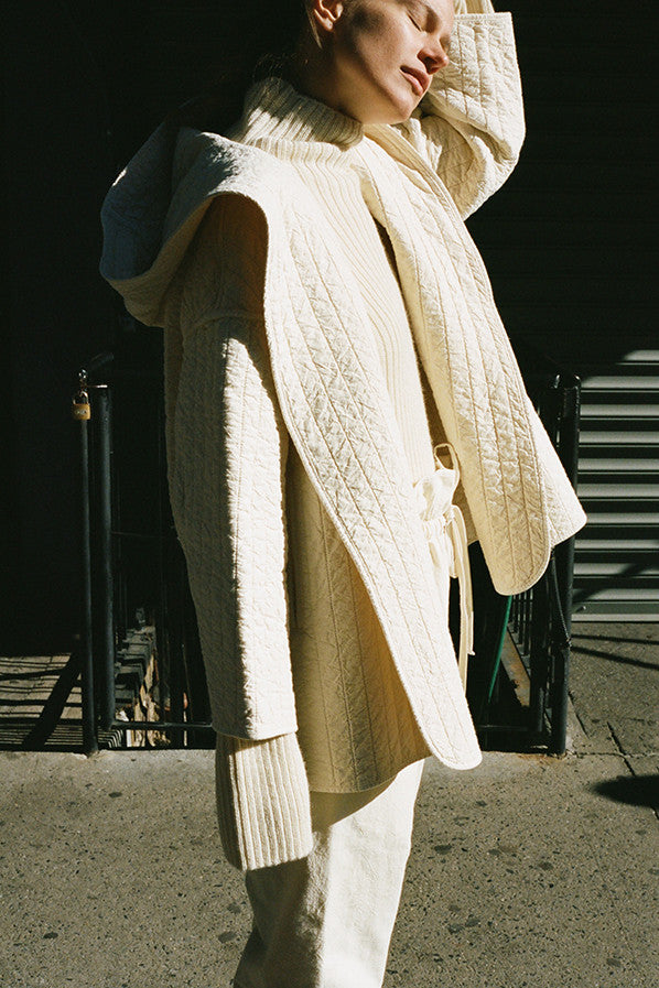 KENDO COAT, BONE