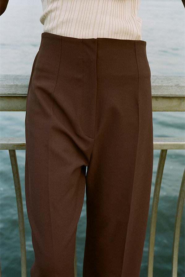 LE PANTALON DROIT, BROWN