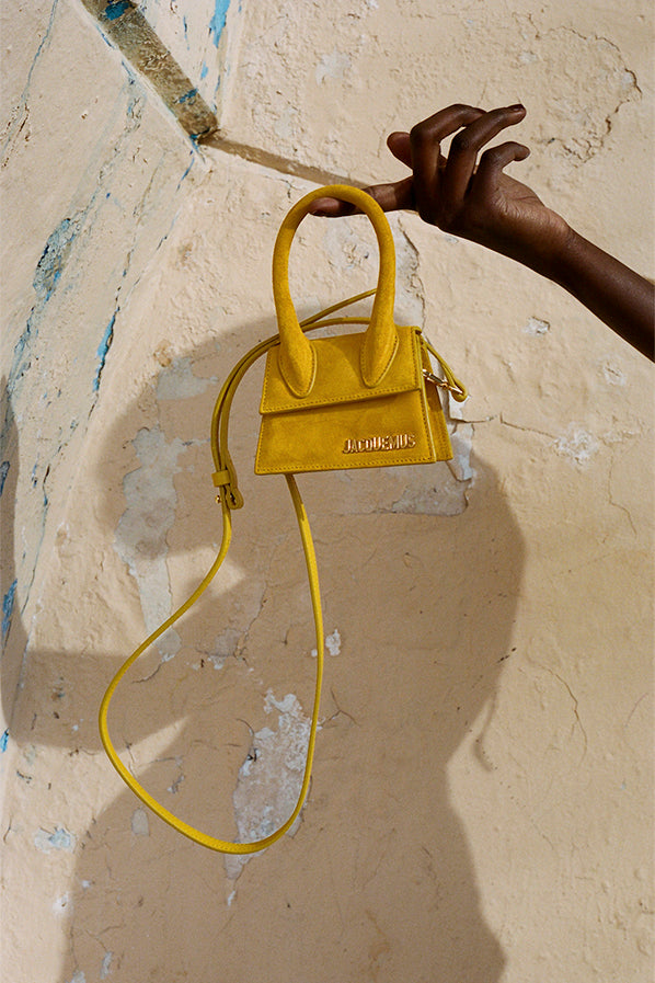 LE SAC CHIQUITO, YELLOW SUEDE