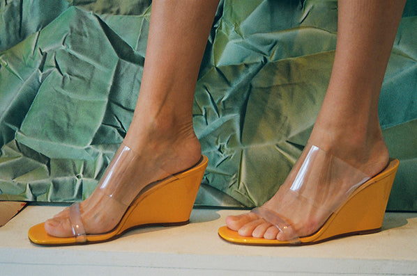 e34045661d OLYMPIA WEDGE, MANGO PATENT. MARYAM NASSIR ZADEH