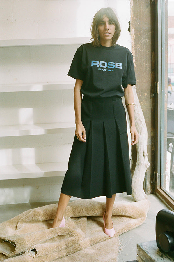 BOSS T-SHIRT, BLACK