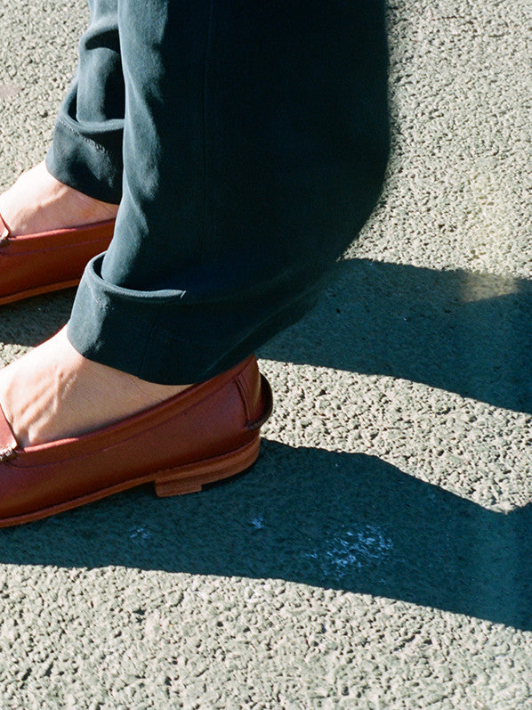 NEUBAU LOAFER, SADDLE