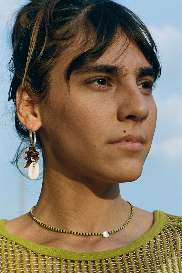 PACHA EARRINGS, TIGER