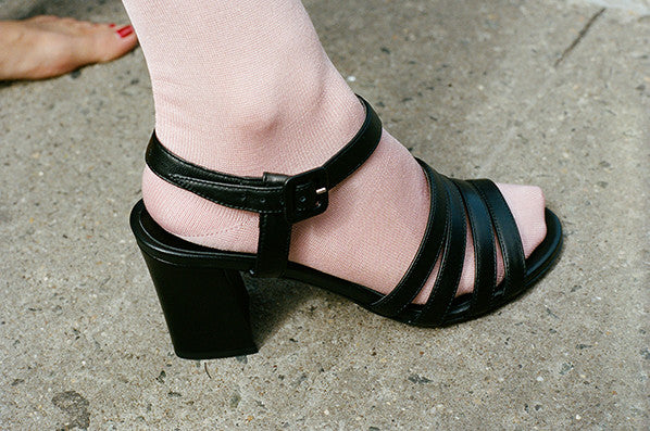 PALMA HIGH SANDAL, BLACK CALF