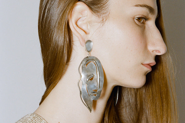 PALOMA EARRINGS, STERLING SILVER