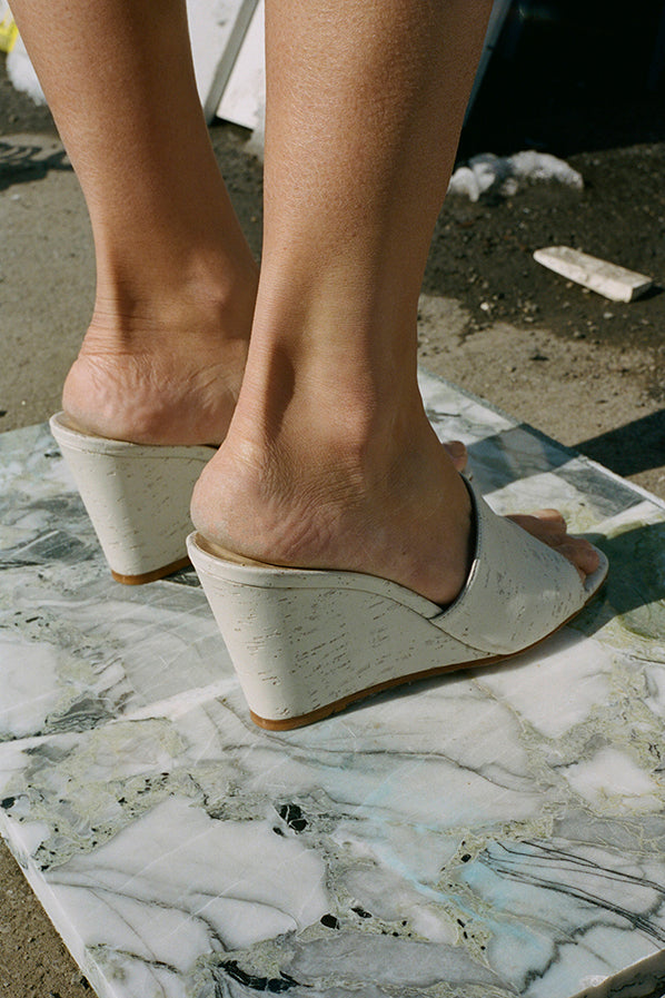 PARADISE WEDGE, GREY CORK