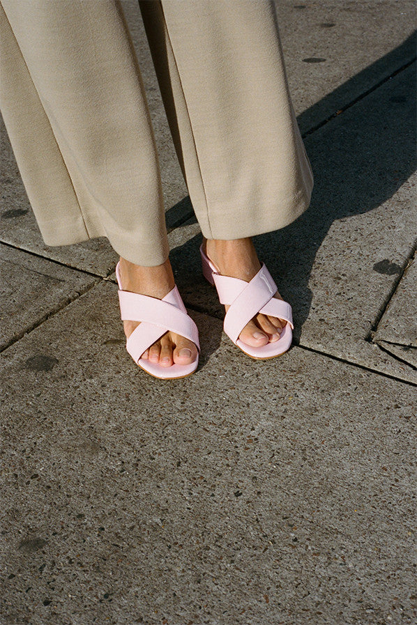 LAUREN SLIDE, BUBBLEGUM PINK