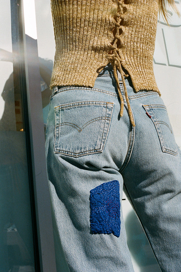SOPHIE JEAN, REWORKED DENIM