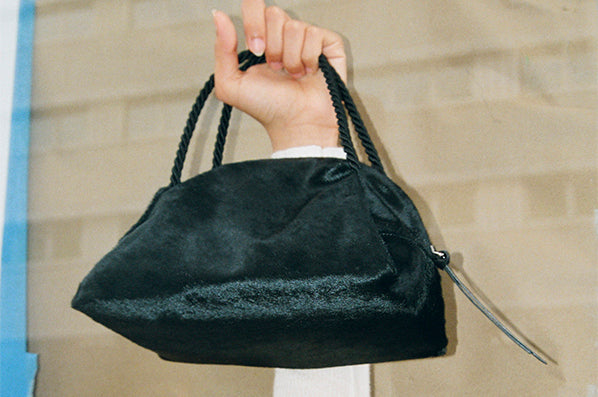 SUN PURSE, BLACK PONY