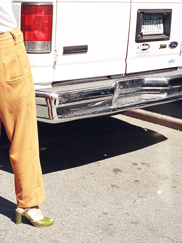 6-POCKET SLACKS, BROWN