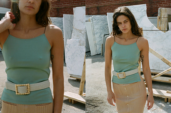 THEA TOP, EMERALD