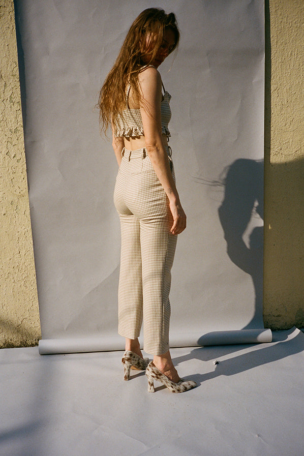 WILLOW TROUSERS, BUFF
