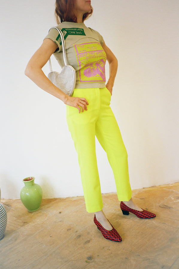WILLOW TROUSERS, SUN FLUORESCENT