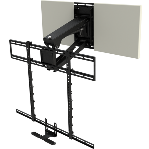 MM700 Pro Above Fireplace Pull Down TV Mount