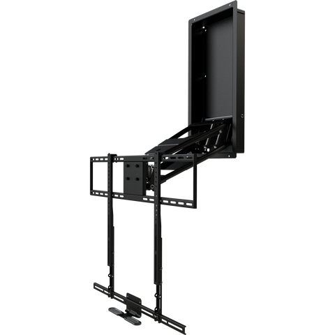 MantelMount MM750 Pro Above Fireplace Pull Down TV Mount