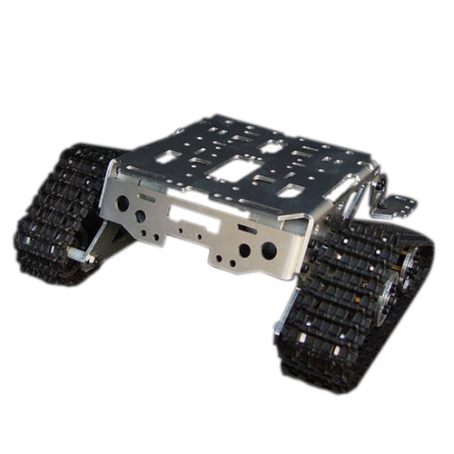 Metal Aluminum Alloy Smart Robot Tank Chassis Kits RC Tracked Car High Quality Intelligent RC Toys for Kids Gift Good Toy Models