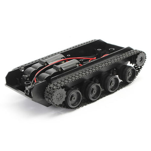 Robot Tank Chassis Handmade DIY Kit Light Shock Absorbed 130 Motors Light Damping balance Tank Robot Chassis For Arduino SCM