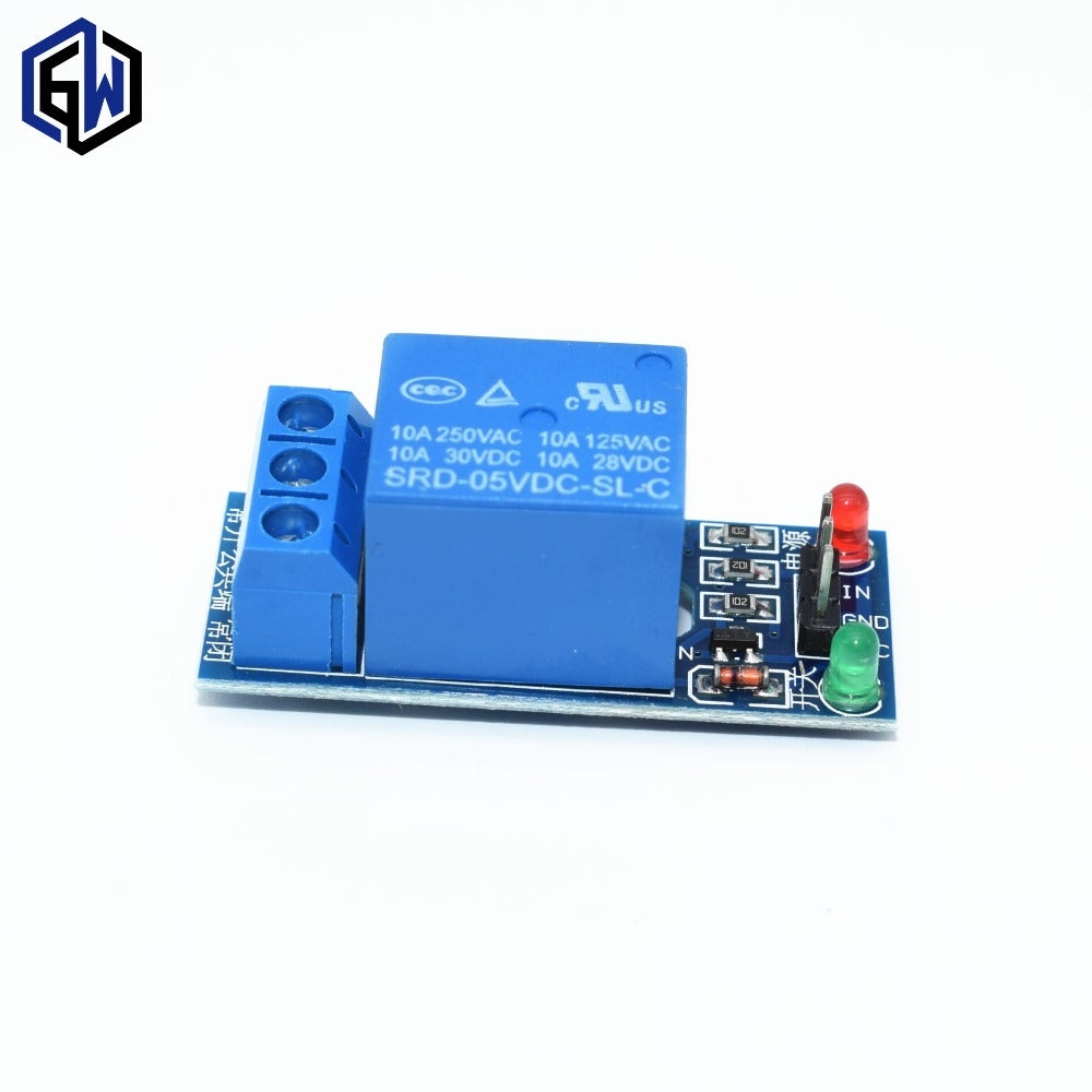1pcs 5V low level trigger One 1 Channel Relay Module interface Board Shield PIC AVR DSP ARM MCU