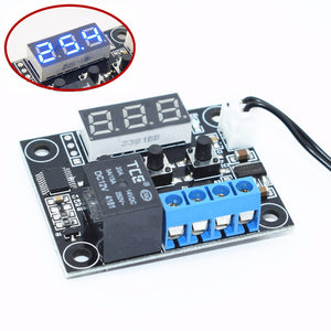 W1209 Blue/Red light DC 12V heat cool temp thermostat temperature control switch temperature controller thermometer thermo