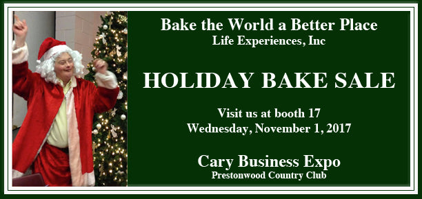 Visit our booth at the Cary Business Expo on November 1st!
