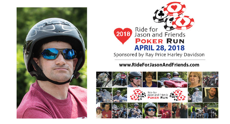 2018 Ride for Jason and Friends Poker Run