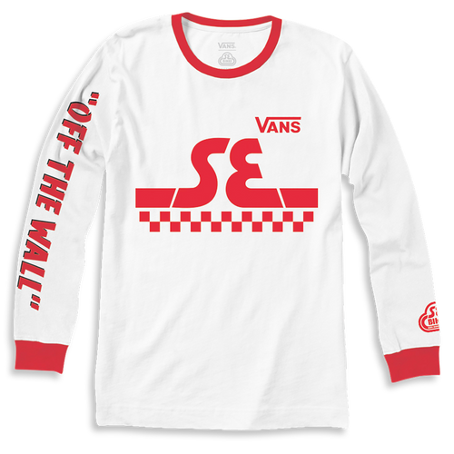Vans x SE Bikes Long Sleeve White