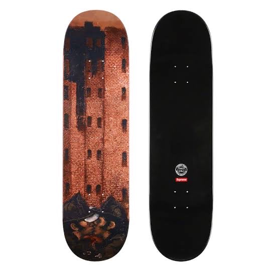 Supreme x Martin Wong Big Heat Deck 8.25