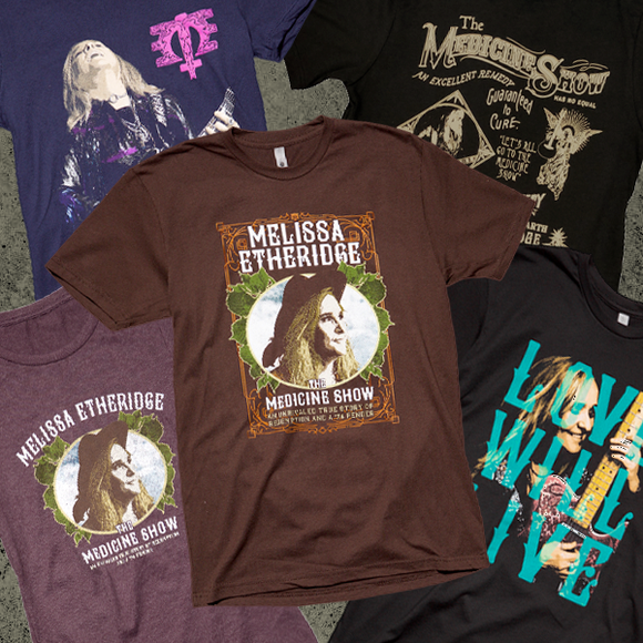 Melissa Etheridge - Apparel
